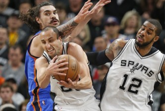 Oklahoma City Thunder v San Antonio Spurs - Game Two